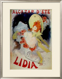 Lidia Posters by Jules Chéret