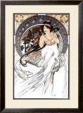 Music Framed Giclee Print by Alphonse Mucha