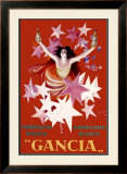 Gancia, Vermouth Bianco Framed Giclee Print