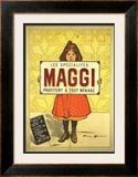 Specialites Maggi Poster by Firmin Etienne Bouisset