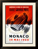 Monaco Grand Prix F1, c.1960 Framed Giclee Print by Jose Lorenzi