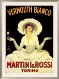 Martini and Rossi, Vermouth Bianco Prints by Marcello Dudovich