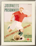 Journees du Prisonnier Framed Giclee Print by Pierre Fix-Masseau