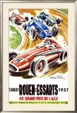Rouen les Essarts, 1957 Framed Giclee Print by Geo Ham