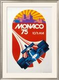 Monaco Grand Prix, 1975 Posters by Geo Ham
