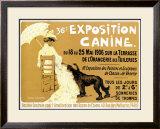 36th Exposition Canine de Briard Framed Giclee Print by Edouard Doigneau