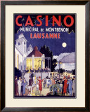Casino Lausanne Framed Giclee Print by Jacomo
