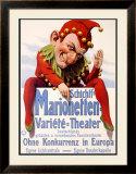 Marionette Puppet Theater Framed Giclee Print