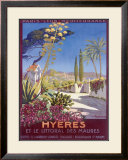 Hyeres, French Riviera Framed Giclee Print by Georges Dorival