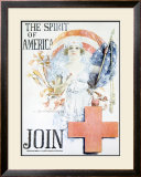 WWI, Spirit of America Framed Giclee Print by Howard Chandler Christy