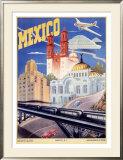 Mexico Framed Giclee Print