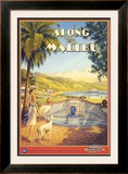 Along the Malibu Posters by Kerne Erickson