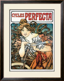 Cycles Perfecta Framed Giclee Print by Alphonse Mucha