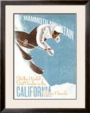 Mammoth Mountain: Ski the World Framed Giclee Print