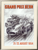 Bern Formula One Grand Prix Framed Giclee Print