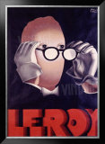 Leroy Opticien, c.1938 Framed Giclee Print by Paul Colin