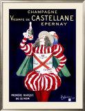Champagne Vicomte de Castellane Epernay Framed Giclee Print by Leonetto Cappiello