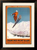 Chamonix, Mont Blanc Art by  Alo (Charles-Jean Hallo)