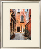 Venice Courtyard Posters by Maureen Love