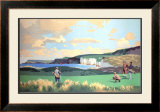 Golf in Northern Ireland, LMS Poster, circa 1925 Framed Giclee Print by Norman Wilkinson