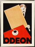Cafe Odeon Print by Hugo Laubi