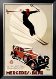 Mercedes Benz Poster by  Meyer