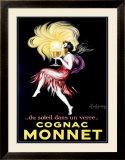Cognac Monet Framed Giclee Print