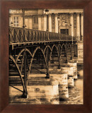 Ponts des Arts Poster by Marina Drasnin Gilboa