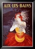 Aix-Les-Bains Prints by Leonetto Cappiello
