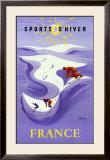 Sports D'hiver Prints by Bernard Villemot