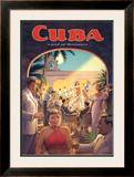 Cuba, Land of Romance Posters by Kerne Erickson