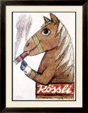 Rossli Cigars Framed Giclee Print