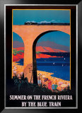 Summer on the French Riviera Print