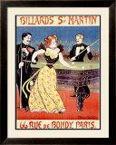 Billards St. Martin Framed Giclee Print by Maurice Feuillet