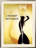 L'Instant Taittinger Framed Giclee Print