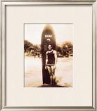 Duke Kahanamoku Framed Giclee Print
