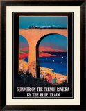 Summer on the French Riviera Prints
