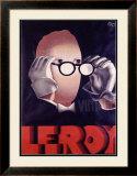 Leroy Opticien, c.1938 Framed Giclee Print by Paul Colin