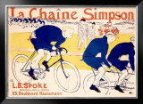 La Chaine Simpson Framed Giclee Print