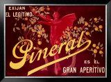 Pineral, Gran Apertivo Framed Giclee Print by Leonetto Cappiello