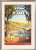 Along the Malibu Art by Kerne Erickson