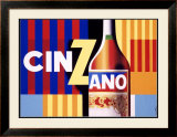 Cinzano Framed Giclee Print by Jacques Nathan-Garamond