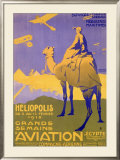 Grande Se Maine Aviation Show Framed Giclee Print