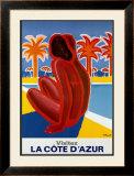 Cote Dazur Prints by Bernard Villemot