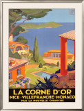 La Corne d'Or Framed Giclee Print