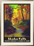 Akaka Falls Framed Giclee Print by Rick Sharp