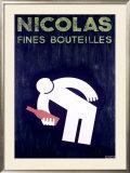 Nicolas Framed Giclee Print by Francis Bernard