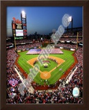 Citizens Bank Park 2009 Opening Day Framed Photographic Print