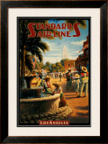 Standard Airlines, Los Angeles, California Prints by Kerne Erickson