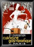 Exposition Culinaire et Gastronomique de Paris Framed Giclee Print